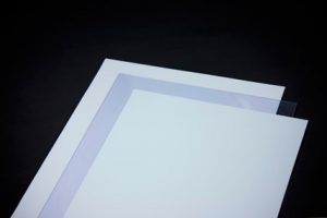 Chapa de PVC Semi Rígido